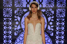 Headphone-Equipped Bridal Couture