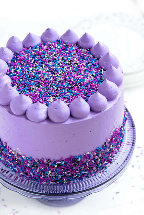 Celestial Cake Recipes - Sweetapolita's Beautiful Galaxy Cake is Truly an Out of This World Dessert