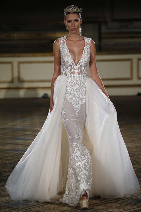 Regal Wedding Gowns - The Berta Bridal Fall Lineup is For the Aristocratic Bride