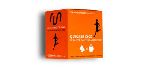 Energizing Performance Gums - The Run Fruit Gum is Infused with Caffeine for a Boost of Vitality