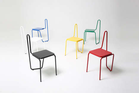 Painterly Sketch Chairs - These Stylish Seats are Inspired by Picasso's Famous Line Drawings