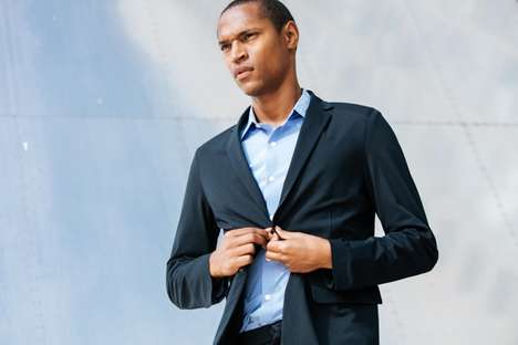 Flexible Formal Wear - The Ministry of Supply AVIATOR 2 Series Features Four-Way Stretch Technology