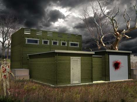 Zombie-Proof Cabins - This Cabin is Specially Designed to Fend Off Hordes of the Undead