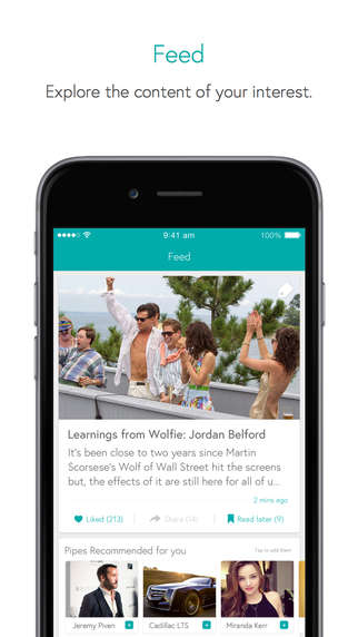 Summarized News Apps - Pipes Provides Straight-Forward News by Describing an Article's 4 Main Points