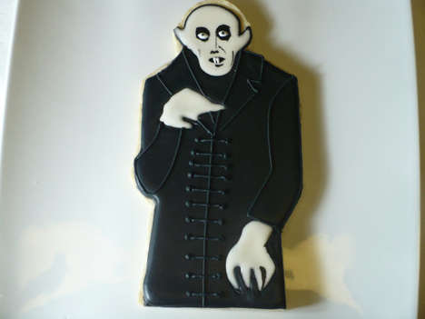 Scrumptious Cinema Sweets - These Horror Movie Character Cookies are Fantastically Detailed