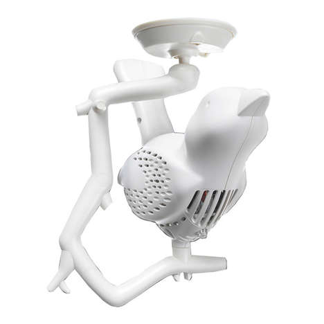 Avian Smoke Detectors - The Berri Chick-a-Dee Home Smoke Detector is Disguised as a Bird