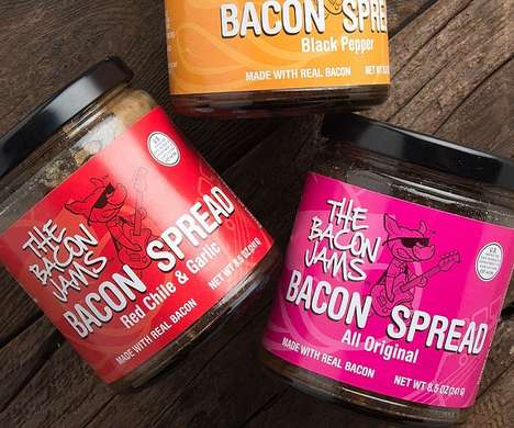 Savory Pork-Infused Jams - These Bacon Jams are Ideal for Upping Your Charcuterie Board Game
