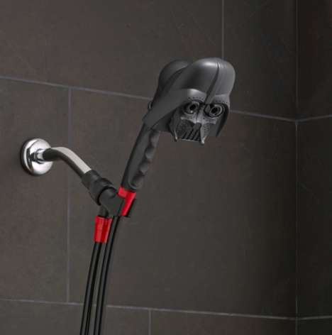Sci-Fi Shower Heads - This Handheld Shower Head is Inspired by a Popular Star Wars Character