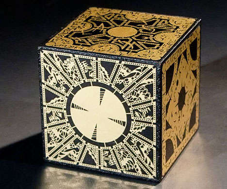Horror Movie Prop Toys - This Hellraiser Puzzle Box is Styled After the Horrific Item from the Films