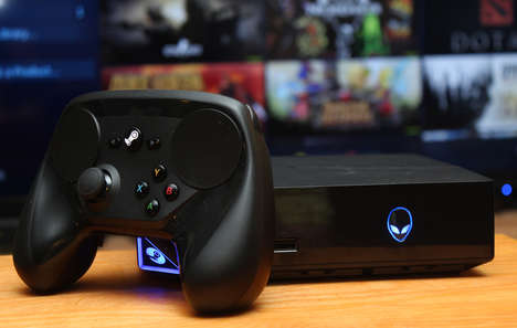 All-Inclusive Gaming Systems - The Alienware Steam Machine is a Customizable Gaming Platform