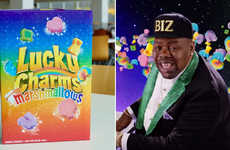 Marshmallow-Only Cereals - The Lucky Charms Marshmallows Box Gets Ride of the Puffed Cereal