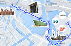 Beacon-Guided City Walks - Amsterdam's Beacon Mile Directs Tourists to Points of Interest