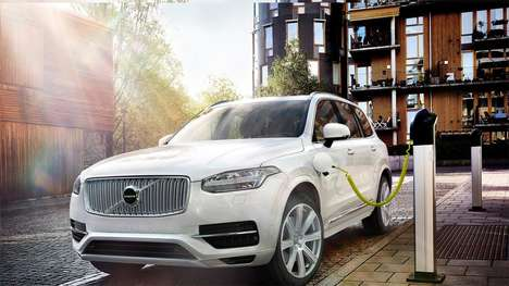 Hybrid Electric Cars - The All-New XC90 From Volvo Offers a Healthy 300-Mile Range
