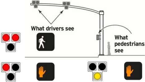 Enhanced Safety Crosswalks - The 'Hawk' Pedestrian Crosswalk Modifies Signals for Drivers