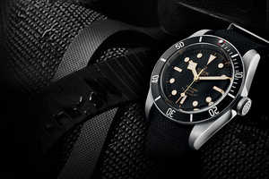 The TUDOR Heritage Black Bay Watch is Designed for Deep Sea Dives