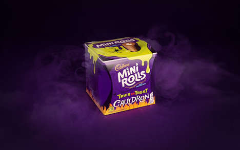 Creepy Crawly Candy Packaging - The Cadbury Candy Brand Unveiled Its Halloween Packaging Designs