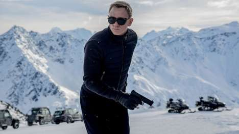 Secret Agent Sunglasses - These Vuarnet Glacier Sunglasses Were Worn by Daniel Craig in Spectre