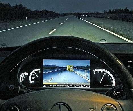 Night Vision Auto Cameras - The FLIR PathFindIR LE Night Vision Camera Makes Night Driving Clearer