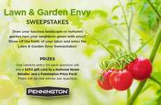 Photogenic Garden Contests - Pennington's Lawn & Garden Envy Contests Offer Prizes to Facebook Fans