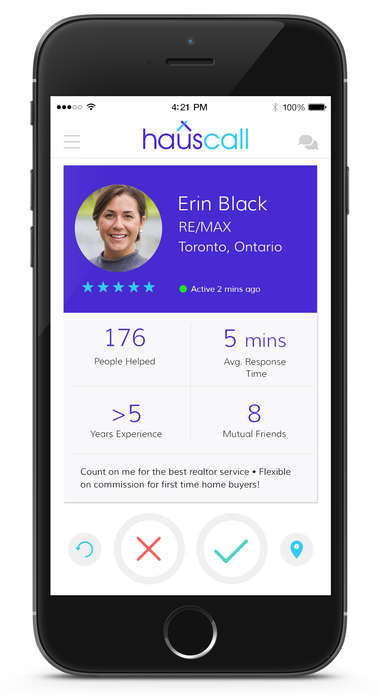 On-Demand Realtor Apps - This App Helps Connect Buyers with Real Estate Agents Anywhere in the World