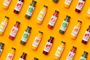 Bruce Juice is a Line of Cold-Pressed Juices and Plant Milks