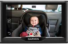Vehicular Baby Monitors - The Garmin babyCam Lets You Keep An Eye On Back Seat Occupants