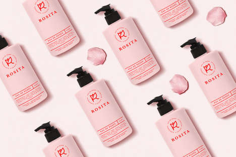 Artisanal Rose Water Concepts - Rosita is a Rose Water Brand Concept by Parisian Agency JOAM