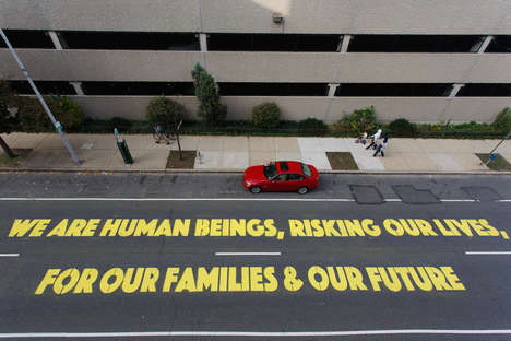 Storytelling Street Art - These Murals Tell the Stories of Families Separated by Deportation