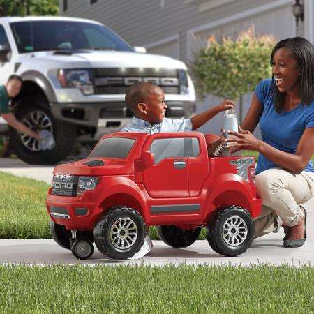 Pickup Truck Wagons - The Step 2 Ford F-150 Kids Wagon is Inspired by the Heavy-Duty Vehicle