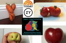 Ugly Produce Campaigns - The Ugly Fruit & Veg Social Campaign Discourages Food Waste in America