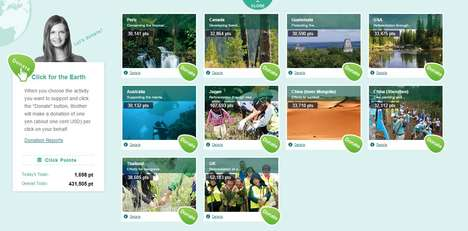 Rainforest Protection Campaigns - Brother's Latest Initiative Aims to Safeguard 2000 Acres of Trees