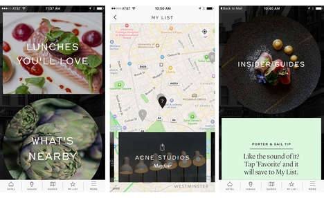 Hotel-Curating Apps - The 'Porter & Sail' App Partnered with Ten Hotels to Curate Guest Experiences