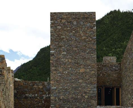 Modernized Stone Architecture