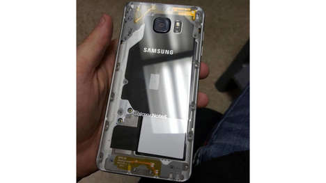 Transparent-Back Smartphones - This Modified Samsung Galaxy Note 5 Has Its Innards Exposed