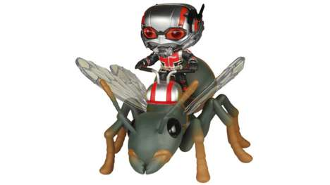 Vinyl Ant Toys - This Ant-Man Vinyl Toy is Incredibly Cute and Slightly Creepy