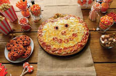 Grinning Pumpkin Pizzas - Papa Murphy's is Serving Jack-O-Lantern Pizza Designs for Halloween