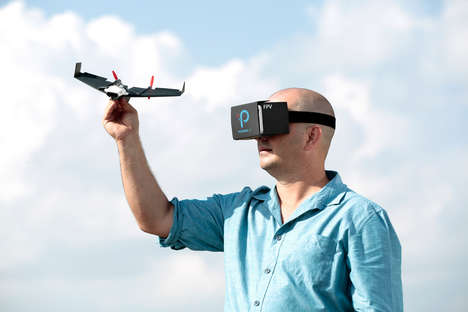 POV Drones - The PowerUp FPV Paper Airplane Drone Allows You to Experience the Flight