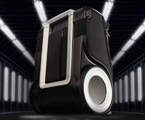 Device-Charging Suitcases - The G-RO Carry-On Bag Provides Power Without the Need for an Outlet