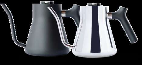 Coffee-Perfecting Kettles - The Stagg Pour-Over Kettle Has an Easy-to-Pour Spout and Thermometer