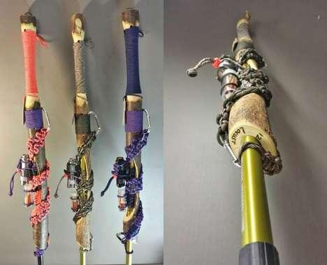 Survival Kit Walking Sticks