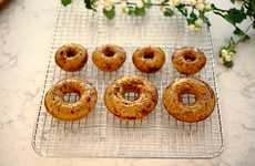 Autumnal Baked Donuts - This Vanilla Chai Glazed Donut Recipe is an Alternative Fall Dessert