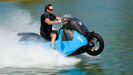High-Speed Amphibious Vehicles - These Recreational Vehicles Can Quickly Switch from Road to Water