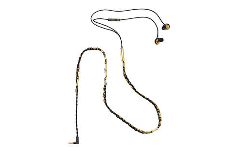 Haute Audio Accessories - These Balmain for H&M Earbuds are a Low-Key High Fashion Staple
