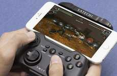 iDevice Gaming Controllers - The Satechi Wireless Gamepad Provides Action Gaming on the Go