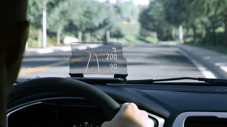 Affordable Heads-Up Displays - The Hudway Glass Offers a Flexible Heads-Up Display For a Low Price