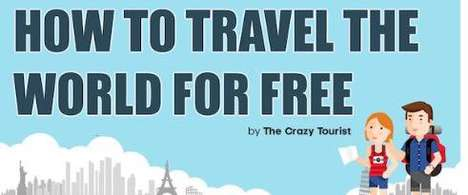 Budget-Conscious Travel Tips - This Inforaphic Shows How Tips and Tricks for Traveling Cheaper