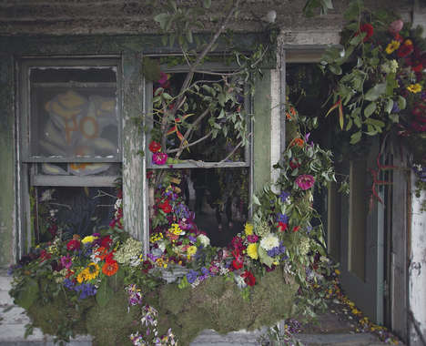 Blooming Abandoned Houses