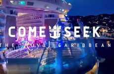 Adventure-Seeking Cruise Ads - Royal Caribbean Courts Millennials by Promising Them Adventure