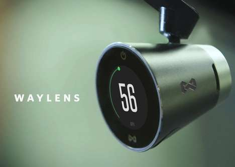 Socially-Fuelled Car Cameras - The Waylens Car Camera System Lets Drivers Share Scenic Road Footage