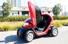 Electric Quad Cars - The Scoot Quad's Top Speed is Limited At 25 Miles Per Hour